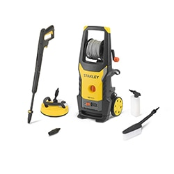 STANLEY® 2200W Electric Pressure Washer with Deluxe Patio Cleaner and Fixed Brush