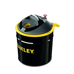 STANLEY® 20L Ash Vacuum Cleaner with filter shaker