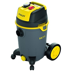STANLEY® 25L Wet and Dry Vacuum Cleaner with power tool connectivity