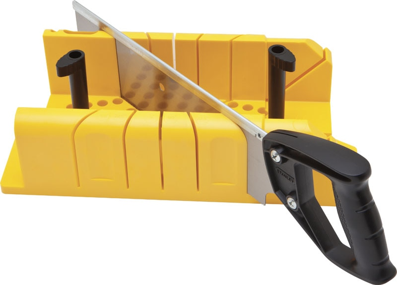 ... Hjem Hand tools & Storage Saws Mitre Boxes Clamping Mitre Box with Saw