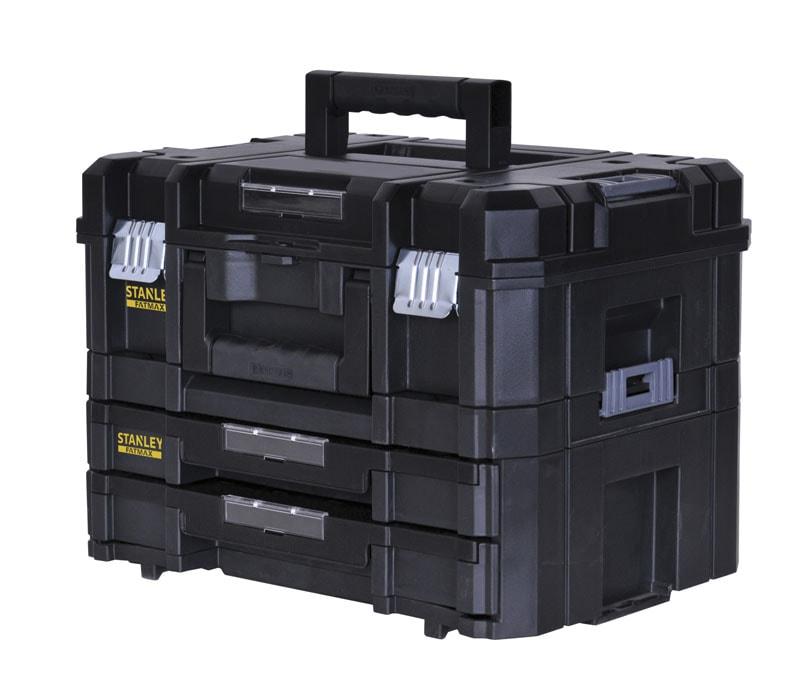 stanley hand tools storage opbergsystemen systemen fatmax tstak ccombo ii iv. Black Bedroom Furniture Sets. Home Design Ideas