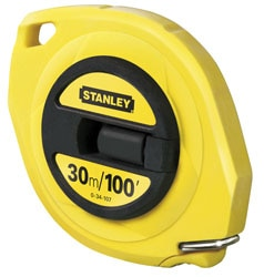 STANLEY® Closed Steel Tape Metric/Imperial
