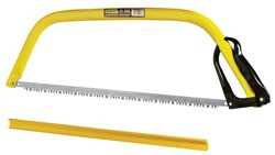 STANLEY® Raker Tooth Bow Saw with Guard