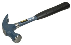Blue Strike Claw Hammer