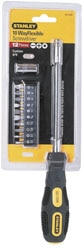 STANLEY® 10-Way Flexi Screwdriver Set