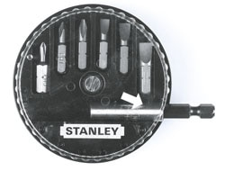 STANLEY® 7 Piece Bit Set