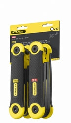 STANLEY® 17 Piece Metric + SEA Folding Hex Key Set