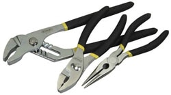 STANLEY® Basic 3 Piece Plier Set