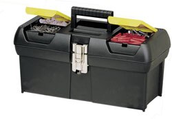 Series 2000 with 2 Built-In Organizers & Tray, Metal Latch
