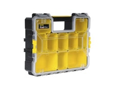 Fatmax® Pro sortimentlåda med plastspännen - djup