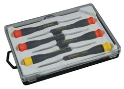 STANLEY® 6 piece Small Precision Screwdriver Set
