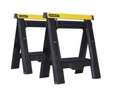 Stanley 2-Way Adjustable Sawhorse Twin Pack