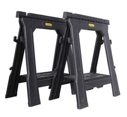 Stanley folding sawhorse (twin pack)