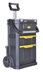 Stanley® Modular Rolling Workshop 2 in 1 Tote/Organizer