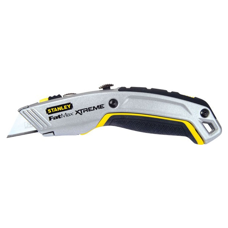 stanley hand tools knives blades retractable knives stanley fatmax pro twin blade. Black Bedroom Furniture Sets. Home Design Ideas