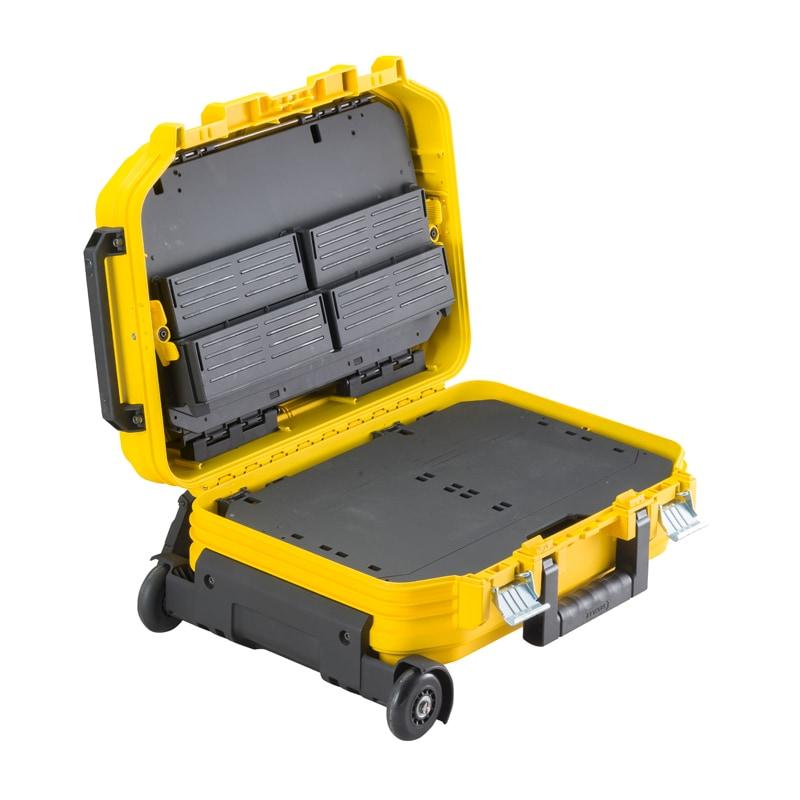 Stanley productos almacenamiento cajas de - Caja herramientas con ruedas ...