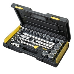 STANLEY® 29-Piece 1/2'' Micro Tough Socket Set