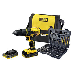 18v Hammer Drill Kit + 50 Piece Acc. Set (FMCK626D2SA)