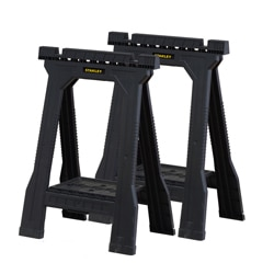 Junior Folding Sawhorse twin pack
