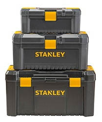 STANLEY® Essential toolbox plastic latch