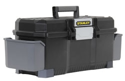 Stanley 24'' One Latch™ Toolbox with water seal and side pockets