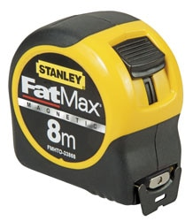 STANLEY® FATMAX™ Blade Armour Magnetic Tape 5M X 32
