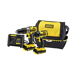 STANLEY® FATMAX® 18V Hammer Drill and Impact Driver Kit