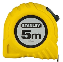 STANLEY® 5M (19mm wide) Tape Measure