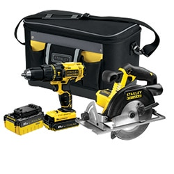 18V Hammer Drill and Circular Saw Combo Kit (FMCK470DM2)