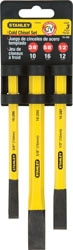 Stanley Cold Chisel Sets - 3 Piece