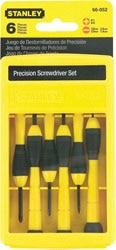 Stanley Precision Screwdrivers - Cushion Grip