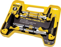 Stanley Hex Key Sets - T Handle