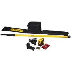 STANLEY® Cross line 10/25M laser level with accessories