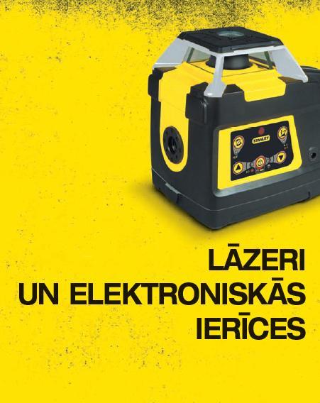 Lāzeru un elekroniskie instrumenti