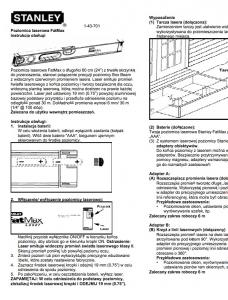 43-701 Poziomica laserowa FatMax LaserLevel