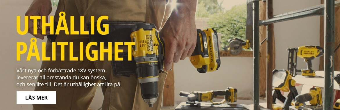 STANLEY FATMAX V20 POWER TOOLS