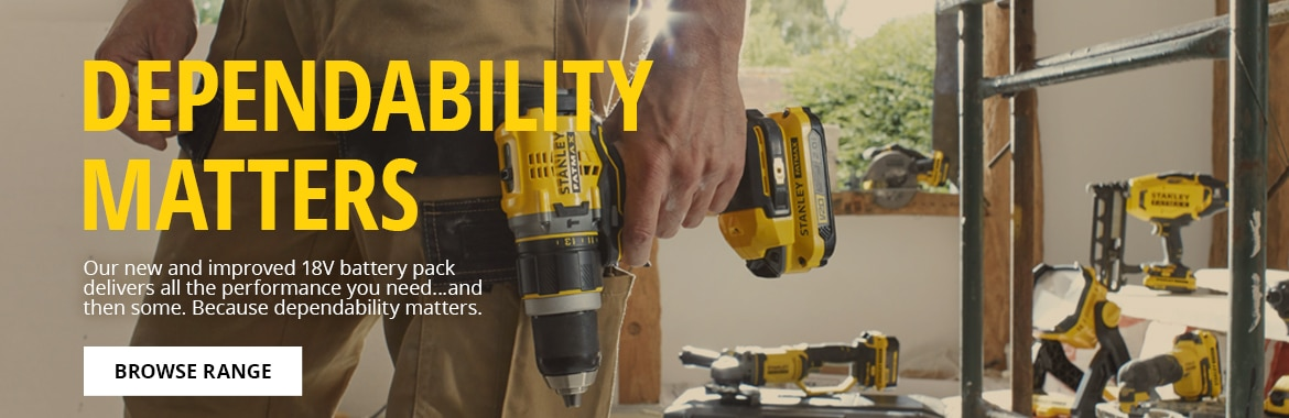 Stanley Fatmax V20 Dependability Matters